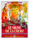The Sign of the Cross, French Movie Poster, 1932 Art