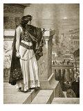 Zenobia's Last Look Upon Palmyra Giclee Print by Herbert Gustave Schmalz