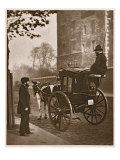 London Cabmen, from 'Street Life in London', 1877-78 Reproduction procédé giclée par John Thomson