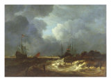 The Tempest Giclee Print by Jacob Isaaksz Ruisdael