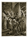 Anointing of Edward the Martyr at His Coronation by St. Dunstan at Kingston-On-Thames Giclee Print by Richard Caton Woodville