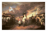 Surrender of Cornwallis at Yorktown, 19 October 1781 Giclee Print by John Trumbull