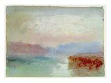 River Scene, 1834 Giclee Print by J. M. W. Turner