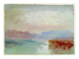 River Scene, 1834 Giclee Print by Joseph Mallord William Turner