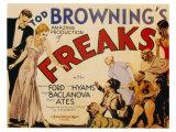Freaks, 1932 Poster