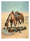 The Water Hole Giclee Print by Stanley L. Wood