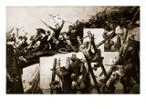 Godfrey De Bouillon at the Siege of Jerusalem Giclée-Druck von Charles Verlat