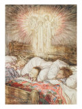 Christmas Illustrations, from 'The Night Before Christmas' by Clement Clarke Moore, 1931 Giclee Print by Arthur Rackham