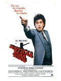 And Justice For All, Spanish Movie Poster, 1979 Premium Giclee Print