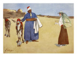 Beauty and the Beasts, from 'The Light Side of Egypt', 1908 Giclee Print by Lance Thackeray