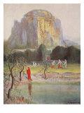 Freia's Garden, 1906 Giclee Print by Hermann Hendrich