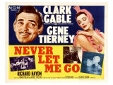 Never Let Me Go, 1953 Prints