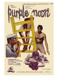 Purple Noon, 1964 Print