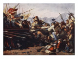 The Battle of Sempach, 1386 Giclee Print by Konrad Grob