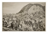Going Out to the Attack on Spion Kop on January 24Th Giclee Print by Richard Caton Woodville