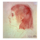 Portrait of Maurice Utrillo as a Child, c.1888-90 Giclee Print by Marie Clementine Valadon