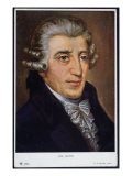 Portrait of Franz Joseph Haydn Giclee Print by A. Schindler