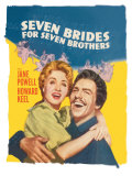 Seven Brides for Seven Brothers, 1954 - Art Print