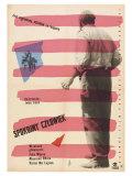 The Quiet Man, Polish Movie Poster, 1952 Premium Giclee Print