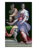 Salome with the Head of St. John the Baptist, c.1512-16 Giclee Print by Cesare Da Sesto