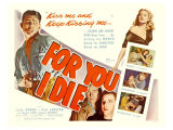 For You I Die, 1947 Giclee Print