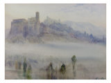 Assisi, Early Morning Giclee Print by Alexander Wallace Rimington