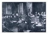 The Krupp Trial of 1923, from 'Deutsche Gedenkhalle: Das Neue Deutschland' Compiled by General Von  Giclee Print by Felix Schwormstadt