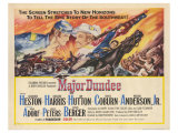 Major Dundee, 1965 Giclee Print