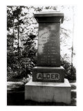 Horatio Alger's Grave in Natick, Massachusetts Giclee Print