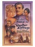 Doktor Živago / Doctor Zhivago, 1965 (filmový plakát vangličtině) Digitálně vytištěná reprodukce