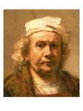 Self portrait, 1661-62 Giclee Print by  Rembrandt van Rijn