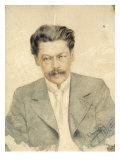 Portrait of the Composer Anton Arensky Giclee Print by Karl Tavaststjerna