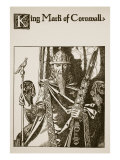 King Mark of Cornwall, Illustration from 'The Story of the Champions of the Round Table' Giclee Print by Howard Pyle
