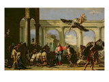 Jesus Healing the Paralytic at the Pool of Bethesda, c.1759 Giclee Print by Giandomenico Tiepolo
