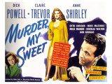 Murder My Sweet, 1944 Gicle-tryk