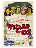 The Wizard of Oz, Australian Movie Poster, 1939 Plakater