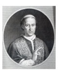 Pope Leo Xii, Engraved by Raffaele Persichini Giclee Print by Agostino Tofanelli