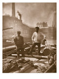 Workers on the 'Silent Highway', from 'Street Life in London', 1877-78 Reproduction procédé giclée par John Thomson