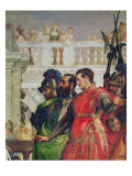 Family of Darius before Alexander the Great Giclee Print by Paolo Veronese