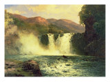 The Waterfall Giclee Print by John Brandon Smith