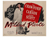 Mildred Pierce, UK Movie Poster, 1945 Posters
