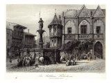The Rathhaus, Hildesheim, engraved by J.J. Crew, printed by Cassell and Company Ltd Giclee Print by Carl Friedrich Heinrich Werner