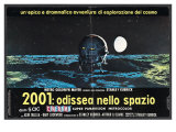 2001: A Space Odyssey, Italian Movie Poster, 1968 - Reprodüksiyon