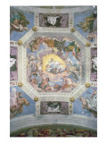 Universal Harmony, or Divine Love, from the Ceiling of the Sala di Olimpo, c.1561 Giclee Print by Paolo Veronese