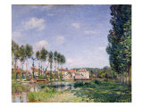 Banks of the Loing, Moret, 1892 Giclee Print by Alfred Sisley