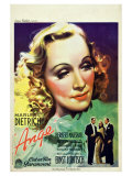Angel, French Movie Poster, 1937 Print