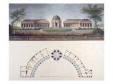 The Temple of the Sun at the Bayreuth Hermitage c.1780 Giclee Print by J. Francis Saher