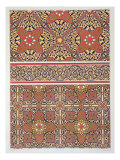 Ceiling Arabesques from the Mosque of El-Bordeyny Reproduction proc&#233;d&#233; gicl&#233;e par Emile Prisse d&#39;Avennes