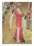 Salome Carrying St. John the Baptist's Head to Herod, 14th century Giclee Print