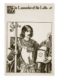 Sir Launcelot of the Lake, Illustration from 'The Story of the Champions of the Round Table' Giclee Print by Howard Pyle